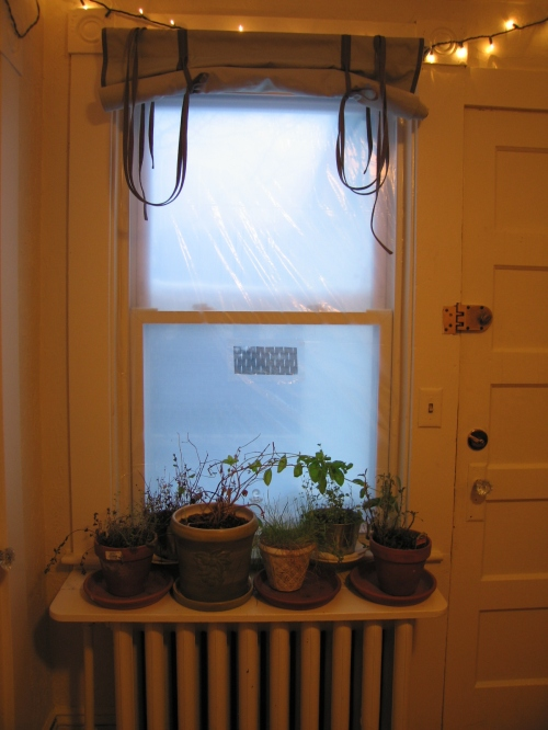Dining Room Winterized Window