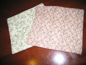 Sewing  Project Reusable Snack Bags
